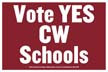 CW Schools Poly Yard Sign